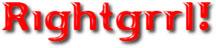 Rightgrrl Web Site